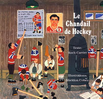 le chandail de hockey cover