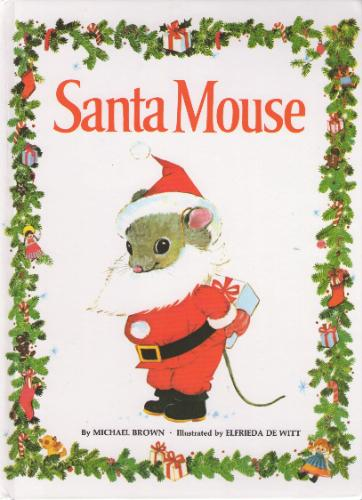 santa mouse cover